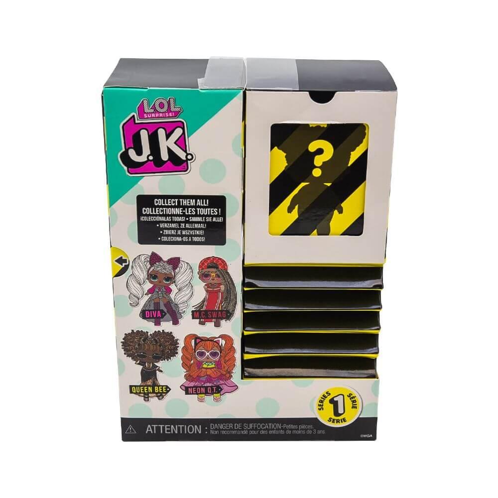 Кукла LOL Surprise Mini Fashion Doll (Мини модницы) JK Queen Bee с 15 сюрпризами - 4