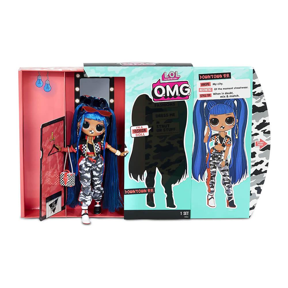 Большая кукла LOL Surprise OMG Downtown B.B. с 20  сюрпризами (2 серия) - 2