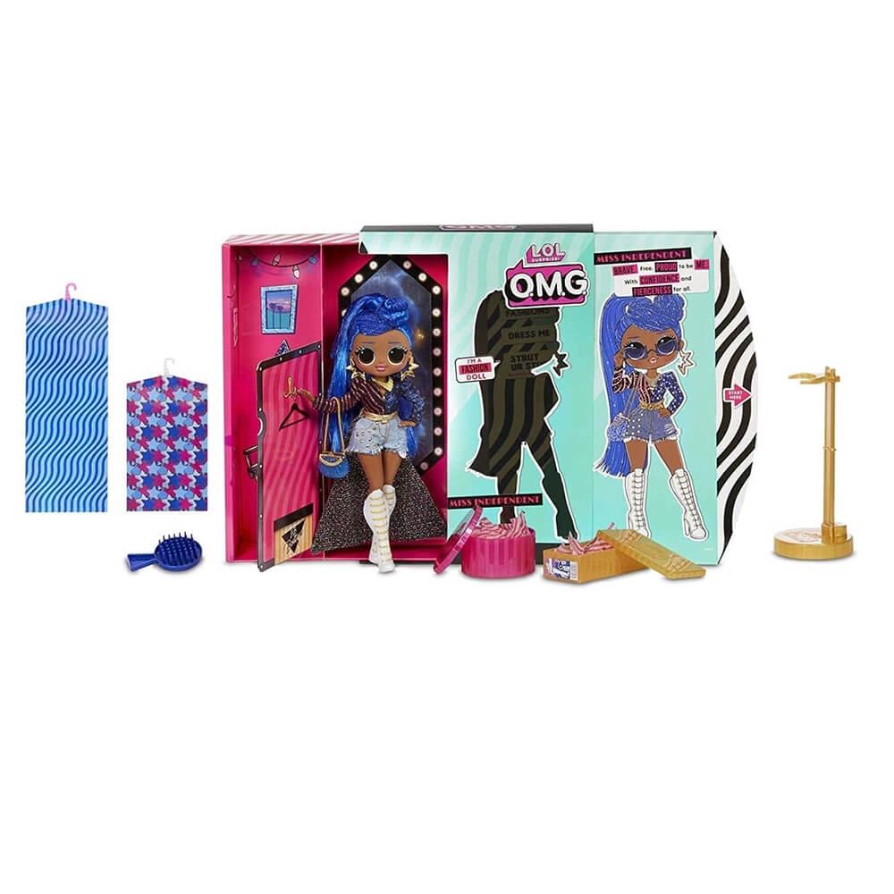 Большая кукла LOL Surprise OMG Miss Independent Fashion Doll с 20 сюрпризами