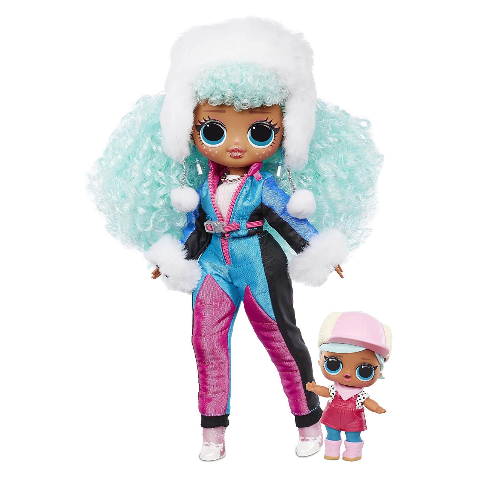 Кукла LOL Surprise LOL OMG Winter Chill Icy Gurl (ледяная девочка) Зимний отдых