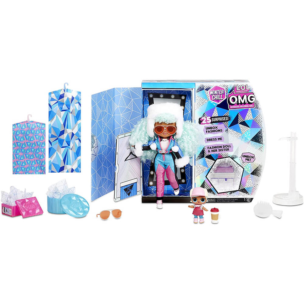 Кукла LOL Surprise LOL OMG Winter Chill Icy Gurl (ледяная девочка) Зимний отдых - 2